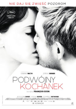 "Plakat do filmu ""Podwójny Kochanek"""